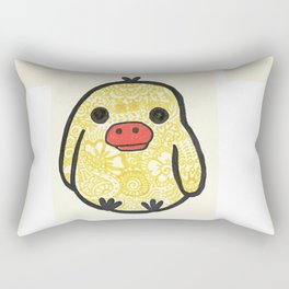 52. Lovely Henna Rilakkuma Chicken for Easter Rectangular Pillow