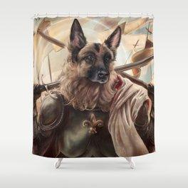 Joan of Bark Shower Curtain