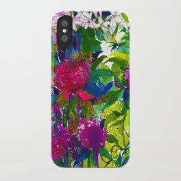 Summer Petals iPhone Case
