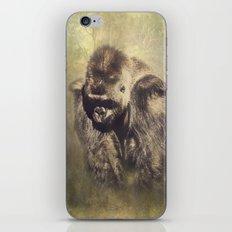 Gorilla in the Mist iPhone & iPod Skin