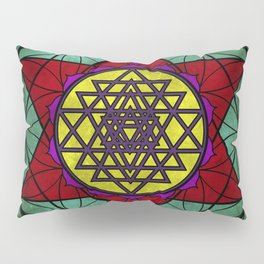 Sacred Geometry for your daily life- SRI YANTRA Pillow Sham