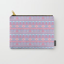 Aztec Perriwinkle Carry-All Pouch