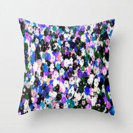 Flower Shower Throw Pillow