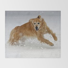 Leaping Throw Blanket