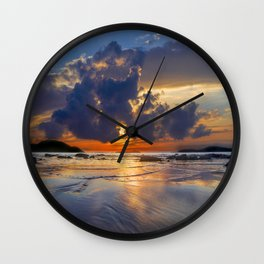 Sunrise in Phuket Thailand Wall Clock