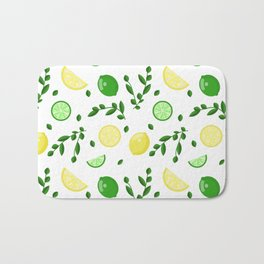 Lemon Lime Bath Mat
