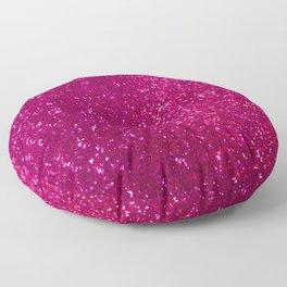 Glamours Fuchsia Glitter Floor Pillow