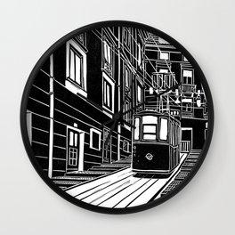 Lisbon - Ascensor Da Bica Wall Clock