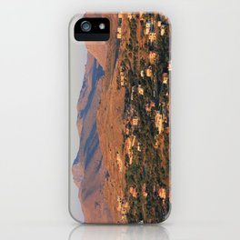 Light from the Sunset iPhone Case