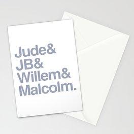 Jude & JB & Willem & Malcolm. Stationery Cards
