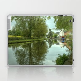 The Canal at Stoke Prior Laptop & iPad Skin