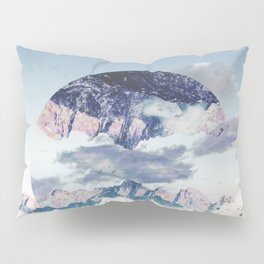 Abstract Mountains Pillow Sham
