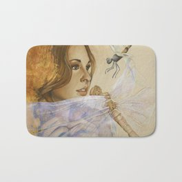 Spreading Her Wings Bath Mat