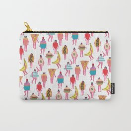 Funky Fancy Dress Pink Ladies Carry-All Pouch