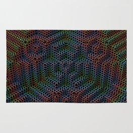 Psychedelic Pyramid Rug