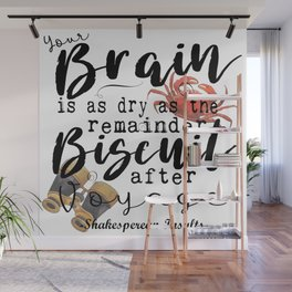 Biscuit Brain Wall Mural