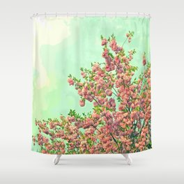 Happy Springtime Shower Curtain
