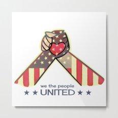 United Hands Metal Print