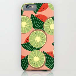 Watermelons and kiwis iPhone Case