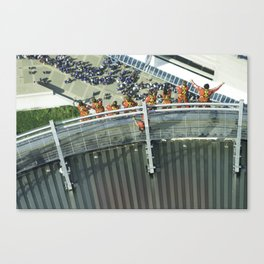 Thrill seekers Canvas Print