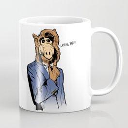 Suit Alf Coffee Mug
