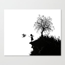 The Dragon Tree Canvas Print