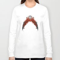 snake Long Sleeve T-shirts featuring Snake by YsfKara