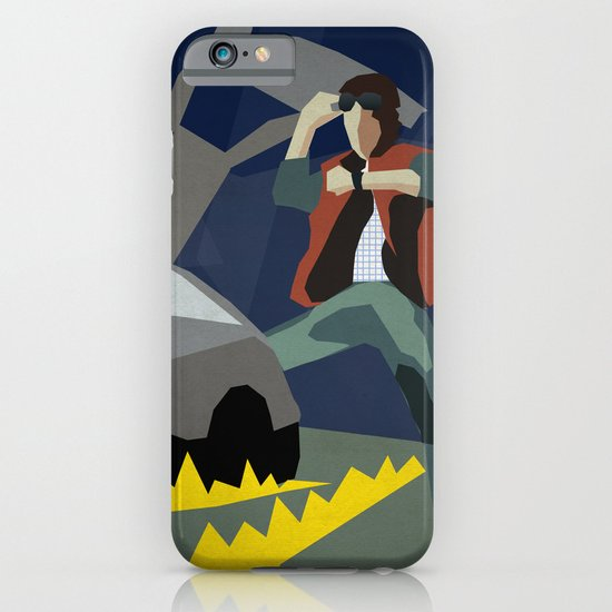 Back To The Future 1985 iPhone & iPod Case