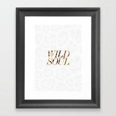 Wild Soul Framed Art Print