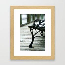 heart you. Framed Art Print