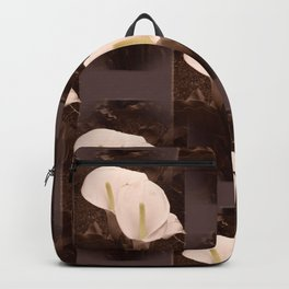 Calla Lily Pair Backpack