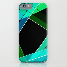 Abstract pattern 8 iPhone Case