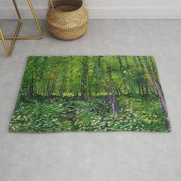 Vincent Van Gogh Trees & Underwood Rug