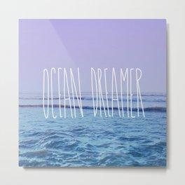 Ocean Dreamer Metal Print