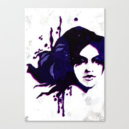 Mermaid twin girl 02 Canvas Print