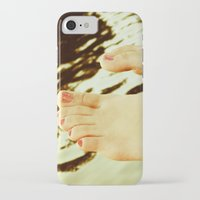 feet iPhone & iPod Cases featuring Feet by Upperleft Studios