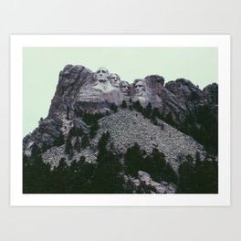 Mount Rushmore National Memorial Art Print