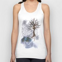 climbing Tank Tops featuring Tree Climbing by Ericaphant