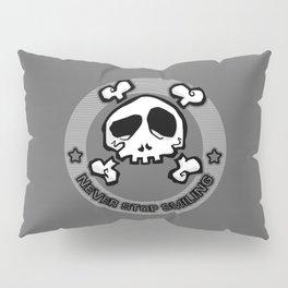 Never Stop Smiling (dark) Pillow Sham