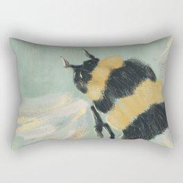 Little Busy Bee Rectangular Pillow