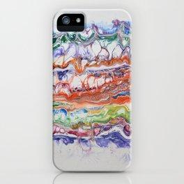 Mashed Rainbow iPhone Case
