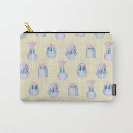 Succulent Yellow Haze Carry-All Pouch