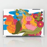 anxiety iPad Cases featuring anxiety by Silvia Pietra