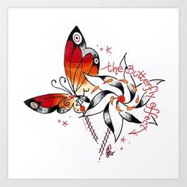the butterfly effect a`la DANG Art Print
