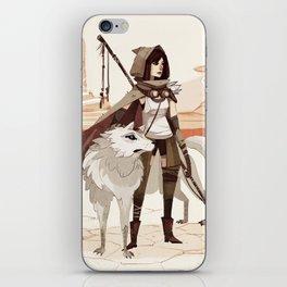 The Desert Drifts iPhone Skin
