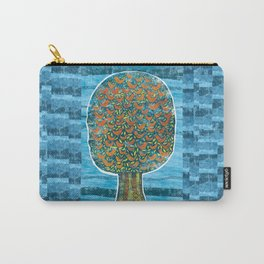 Tree and Birds Carry-All Pouch