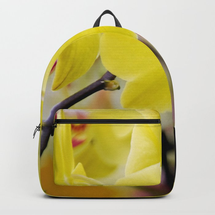 Close up Orchid #7 Backpack