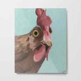 Wilson Rooster Art Metal Print