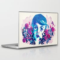 new year Laptop & iPad Skins featuring New Year by Enrico Guarnieri 'Ico-dY'