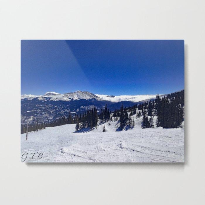Colorado in Full Color Metal Print